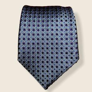 Hugo Boss Blue Silk Tie
